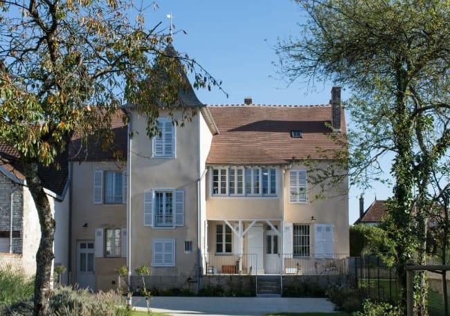 Pierre-Auguste Renoir's home in Essoyes, France