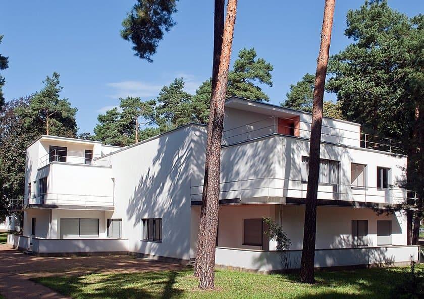 Walter Gropius' Bauhaus master house