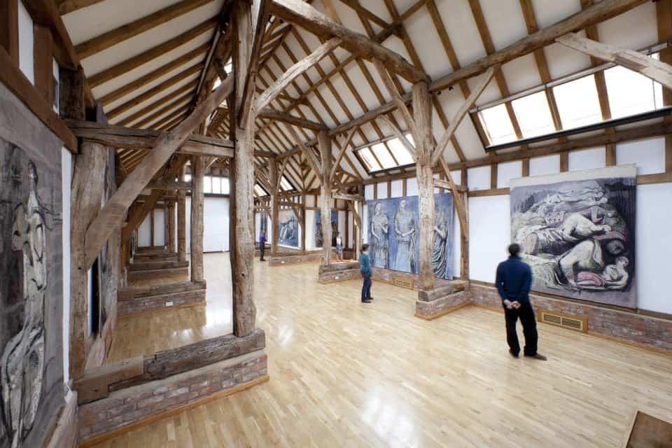Aisled Barn exhibition
