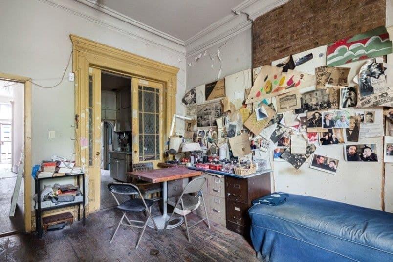 View of Bourgeois' studio