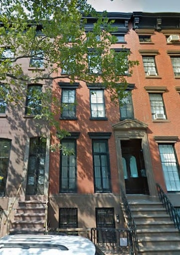 Louise Bourgeois' home in Chelsea, Manhattan