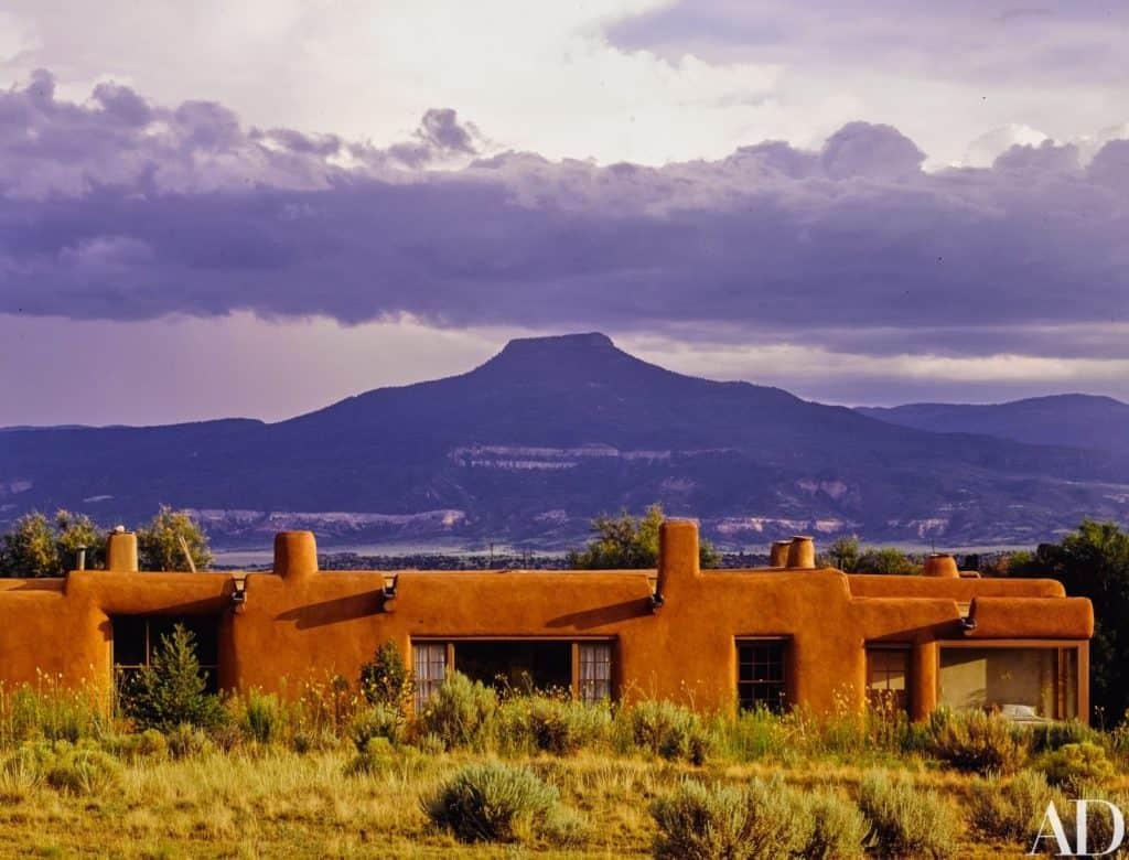 Georgia O'Keeffe's home
