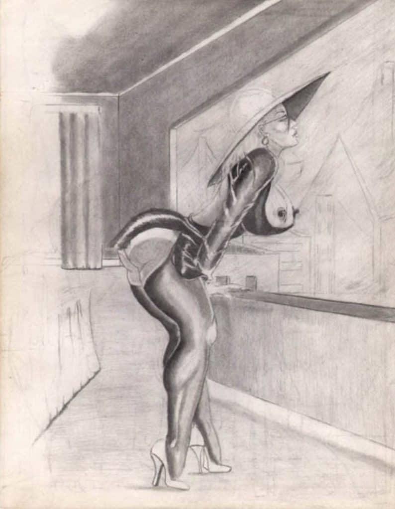 William Crawford drawing