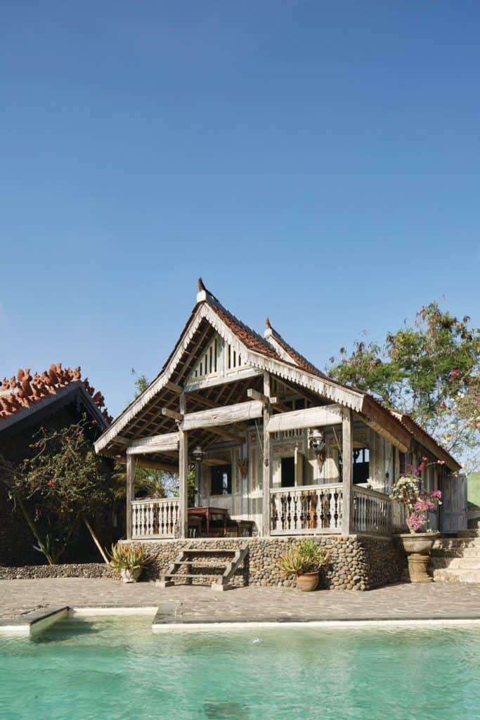 Ashley Bickerton's home in Bali