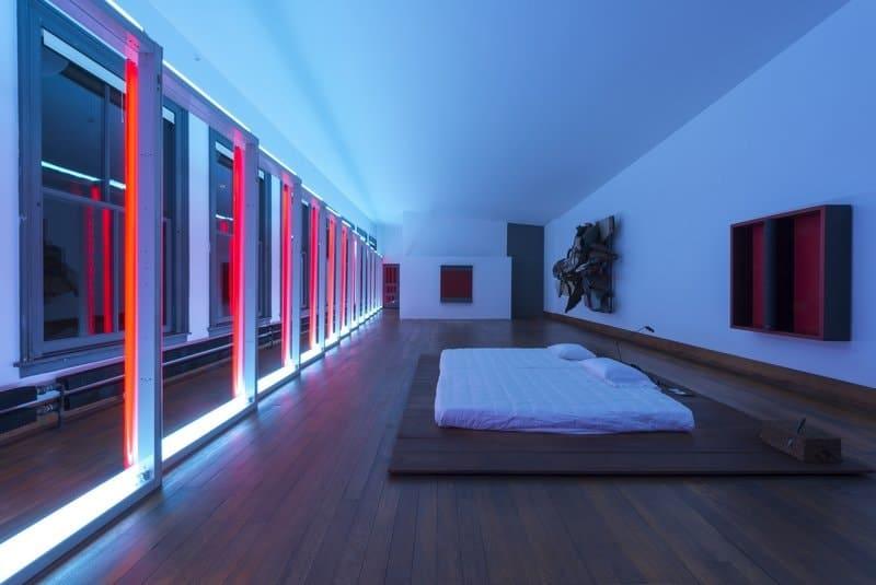 Donald Judd's bedroom at 101 Spring Street