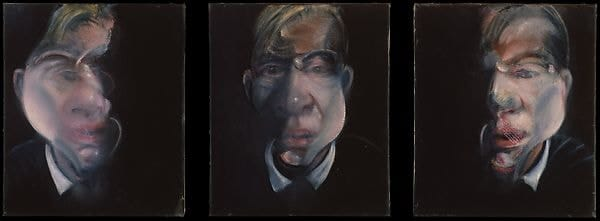 Francis Bacon - Three Studies for a Self-Portrait - 1979-1980