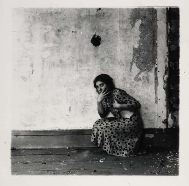 Francesca Woodman - Untitled, from Polka Dots Series, Providence, Rhode Island - 1976