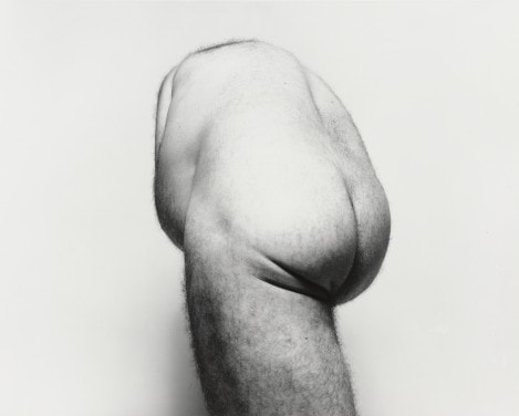 John Coplans - Back Torso from Below - 1985