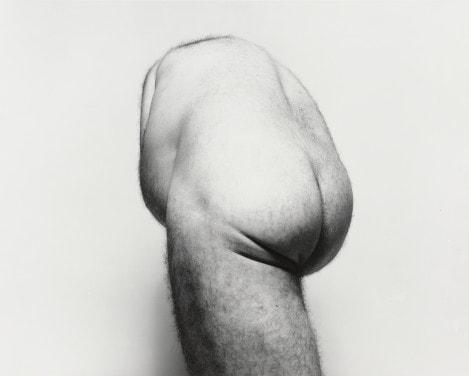 John Coplans - Back Torso from Below - 1985