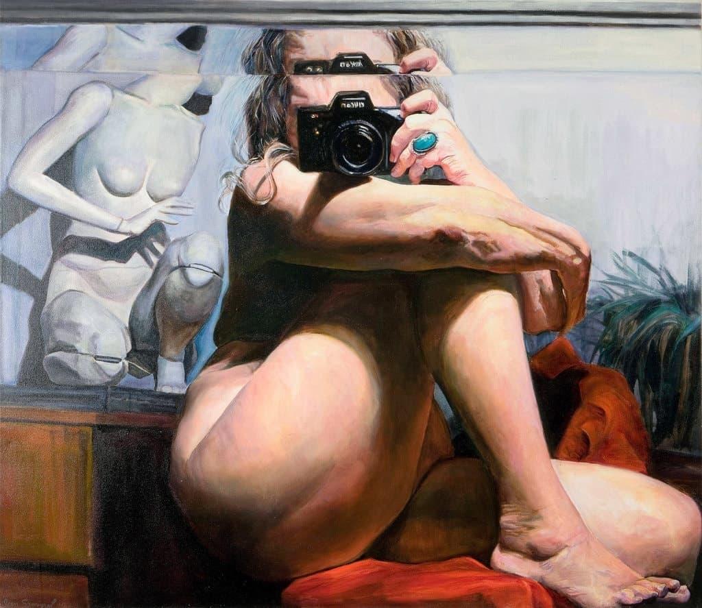 Joan Semmel - Centered - 2002