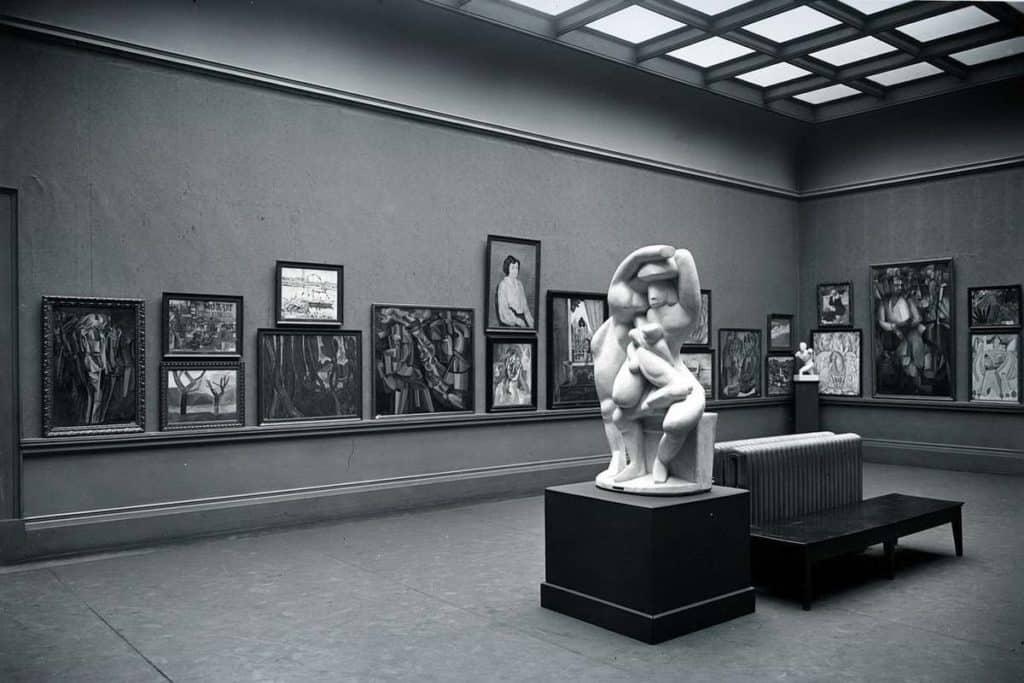 Armory Show Interior, New York City, 1913