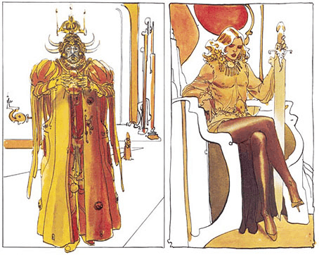 Moebius and Jodorowsky - Alejandro Jodorowsky Dune