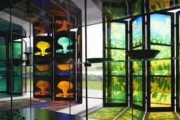 Brian Clarke - The Art of Light - Sainsbury Centre
