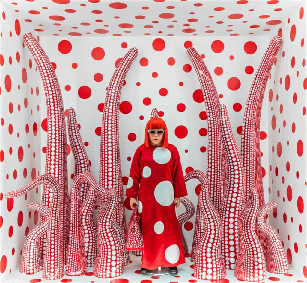 Louis Vuitton Shop Window Display with Tentacles