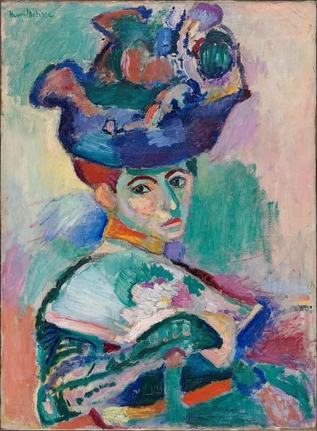 Henri Matisse - Femme au chapeau - 1905
