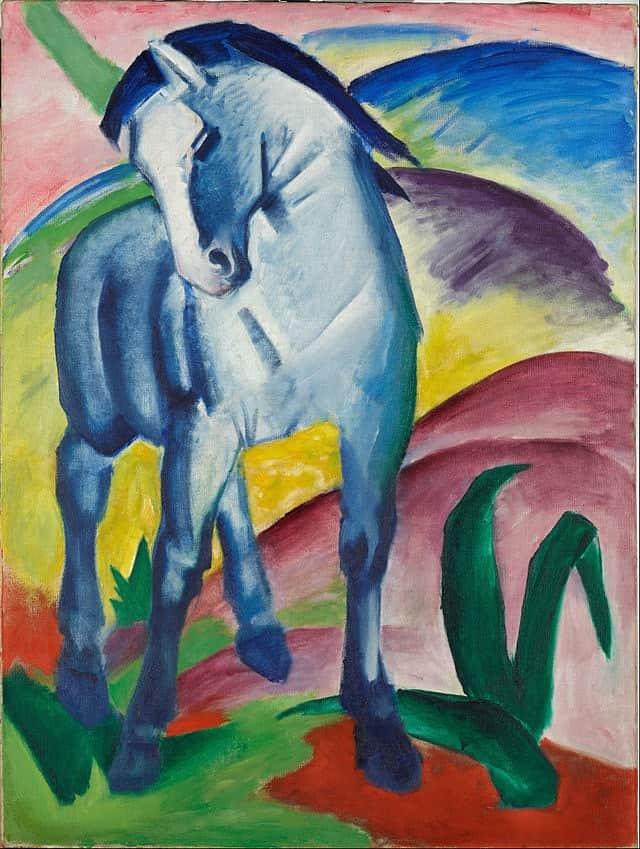 Franz Marc - Blue Horse I - 1911