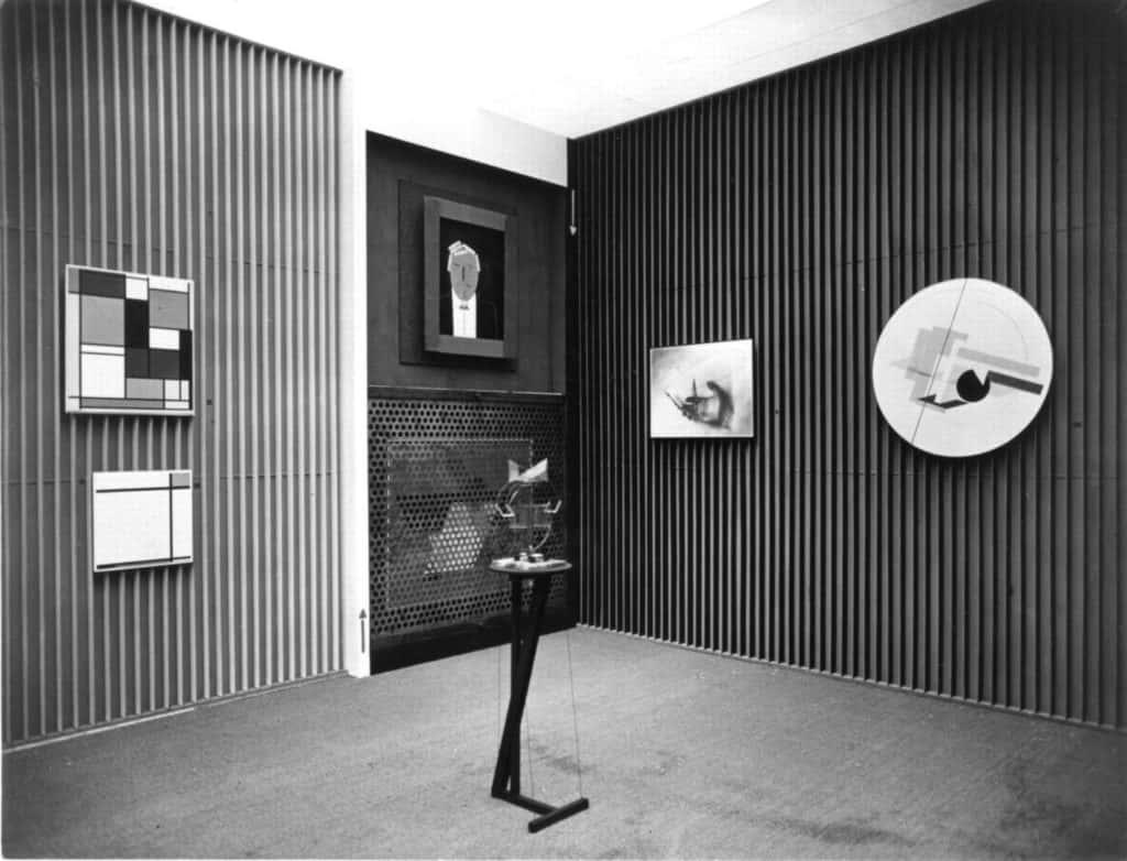 El Lissitzky's Kabinett der Abstrakten (1927-28)