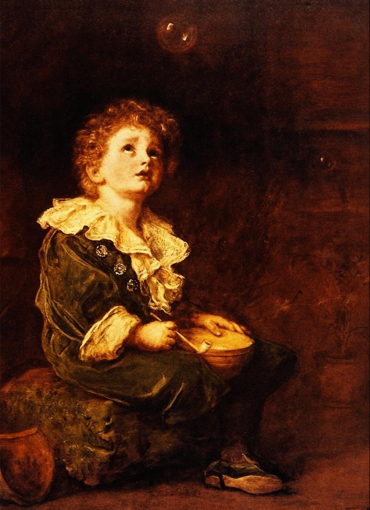 Bubbles Artwork by Sir John Everett Millais
