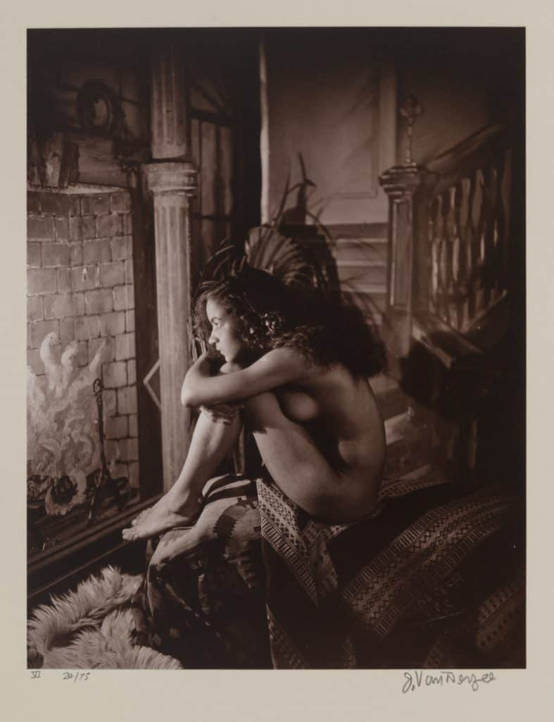 James Van Der Zee - Nude - 1924
