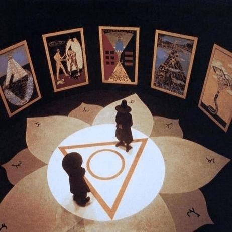 The Tarot Room, still from Holy Mountain