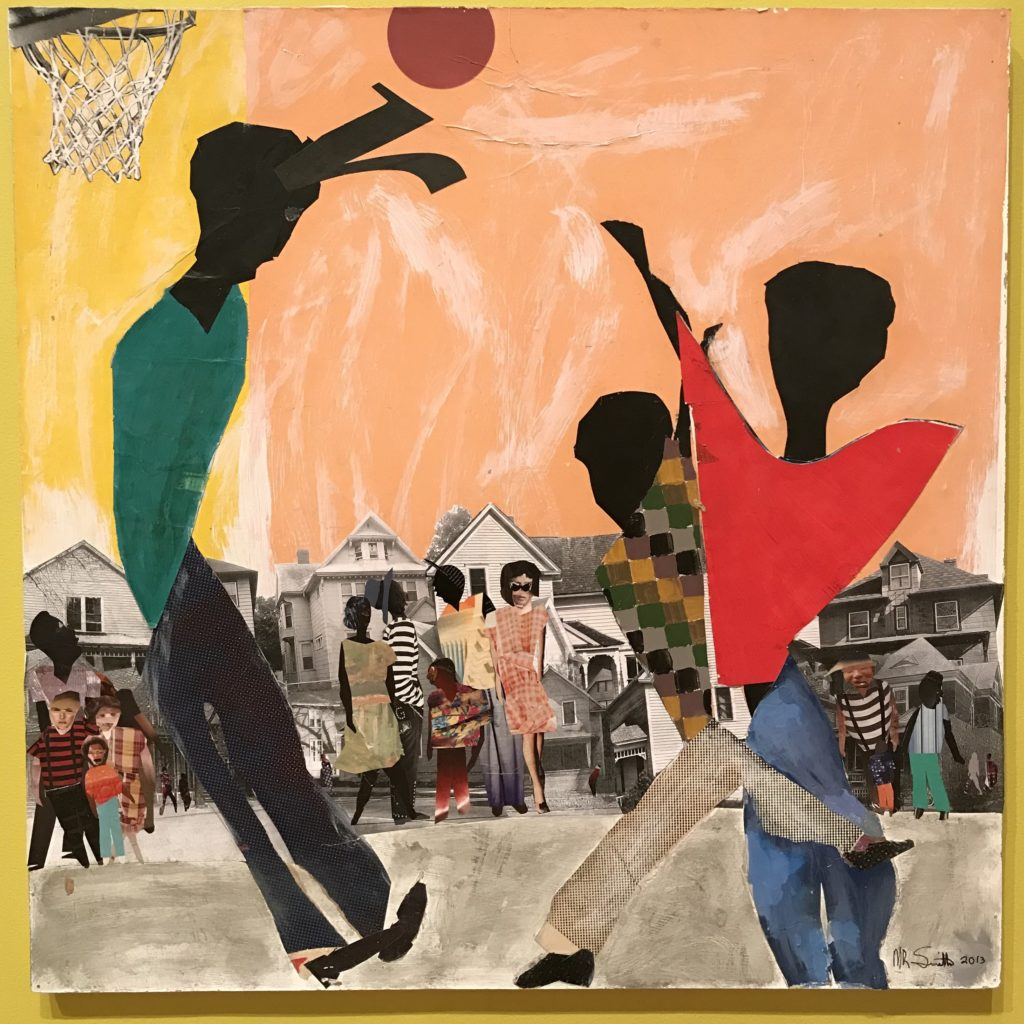 Basketball at Central High School Grounds (2013) by Melvin Smith