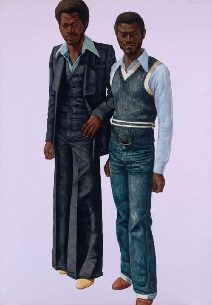Barkley L. Hendricks, A.P.B's (Afro Parisian Brothers), 1978.