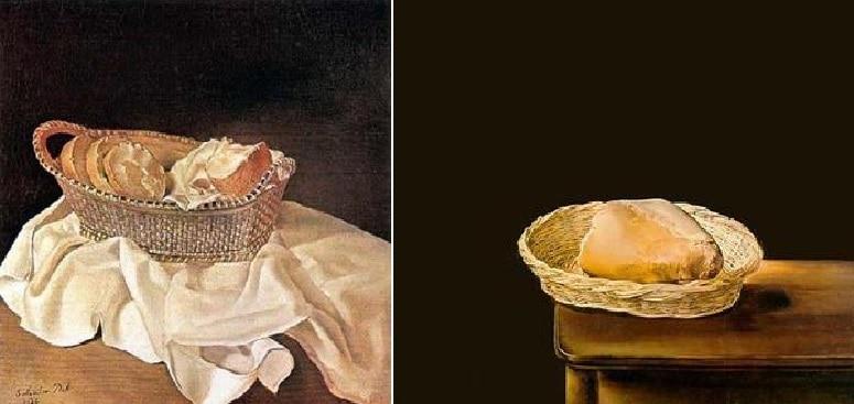 Salvador Dalì Basket of Bread