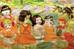 The story of the Vivian sisters against the Glandelinians by Henry Darger