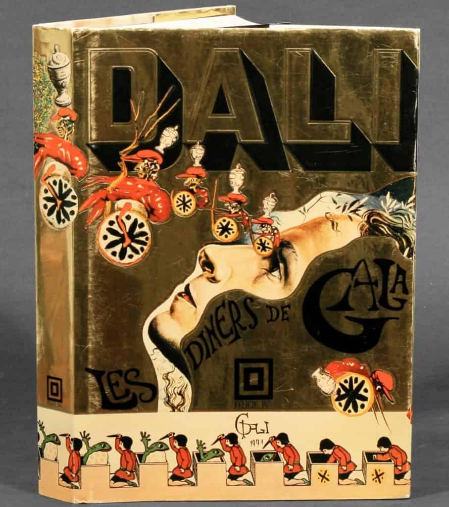 Salvador Dalì cookbook Les Dîners de Gala