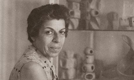 Saloua Raouda Choucair in 1974