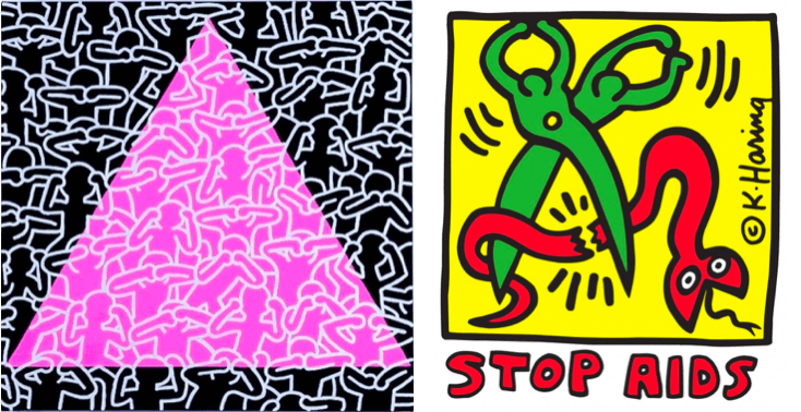 Keith Haring stop aids