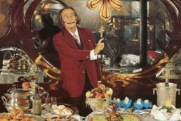 Salvador Dalì cookbook Les Dîners de Gala.