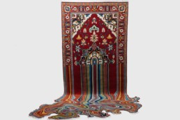 textile art. Faig Ahmed, Liquid, 2014.