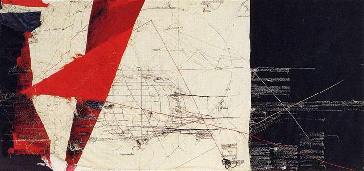 Mondo Incandescente (1988) by Maria Lai