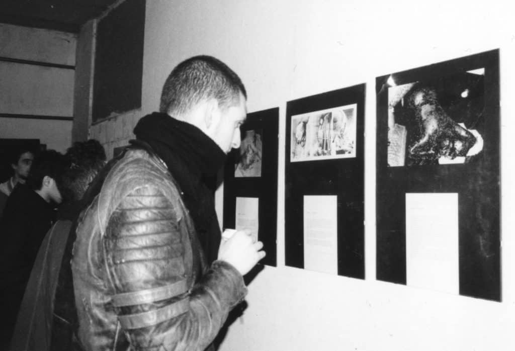 Darko Maver, Censored Works - installation view, Bologna 1999