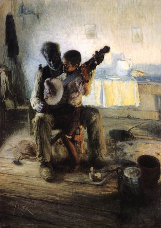 Henry Ossawa Tanner, The Banjo Lesson, 1893, oil on canvas.