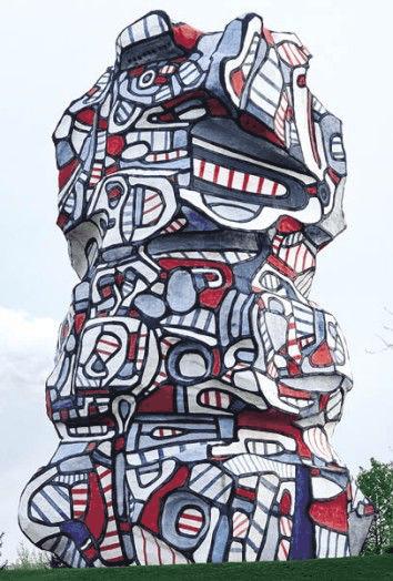 Jean Dubuffet, Tour aux figures, 1988