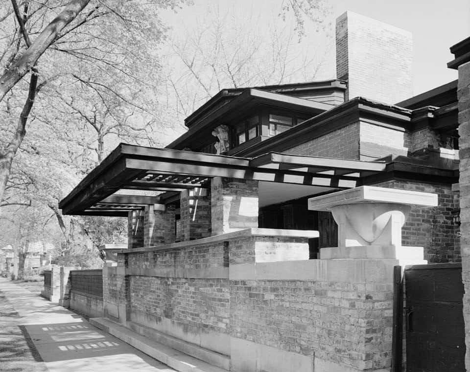 Frank Lloyd Wright's Home and Studio
