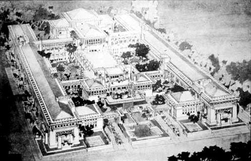 Tokyo Imperial Hotel (Frank Lloyd) 1911
