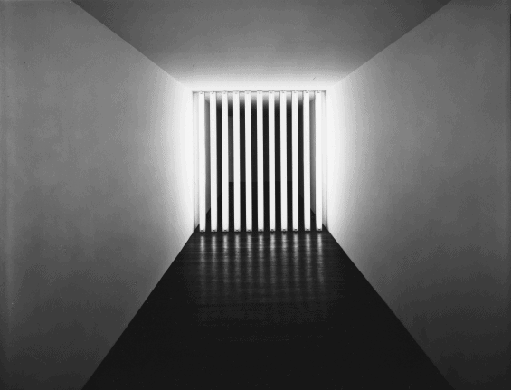Barred Corridors by Dan Flavin
