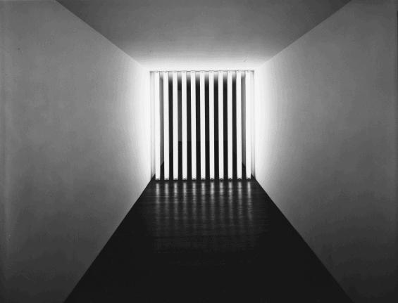 Barred Corridors by Dan Flavin