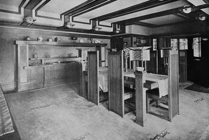 Interior of Frederick Robie House