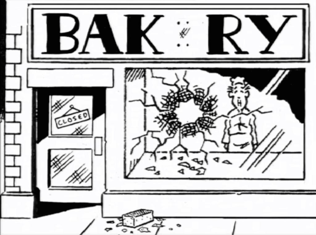 Drunken Bakers by Mark Leckey