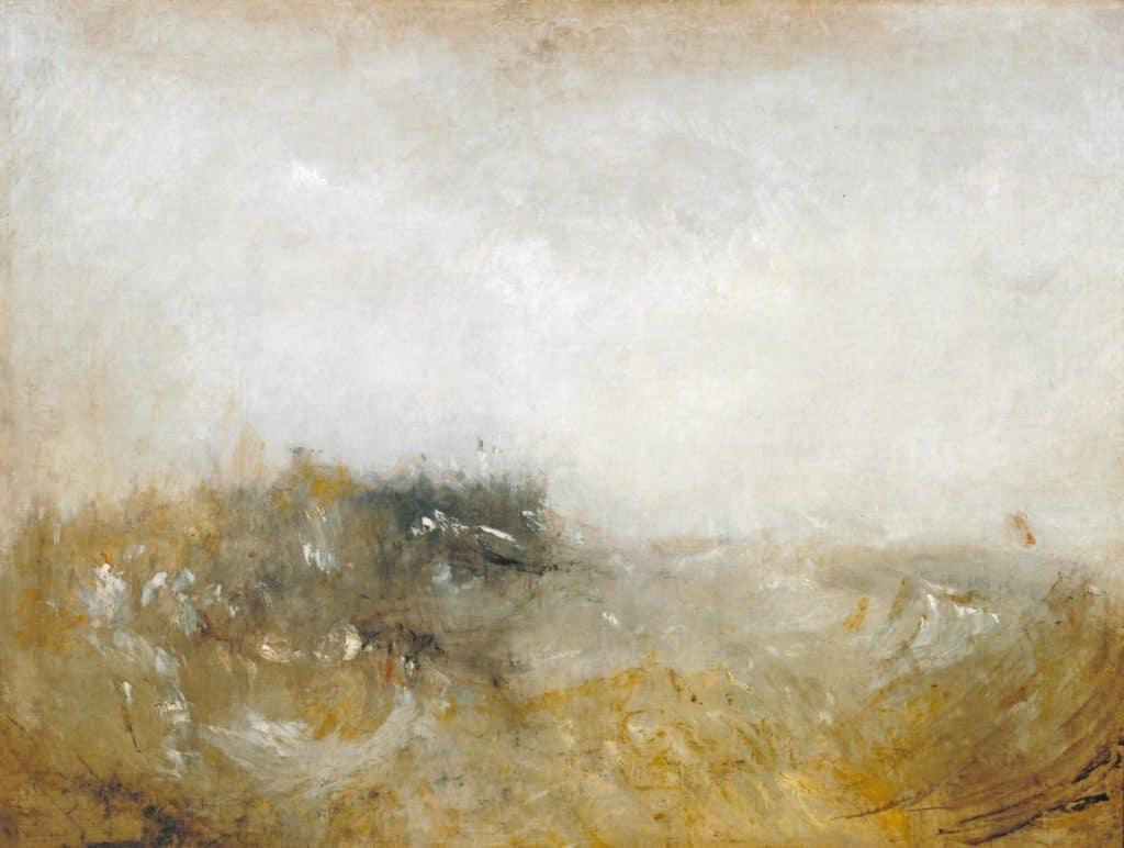 Rough Sea by William Turner