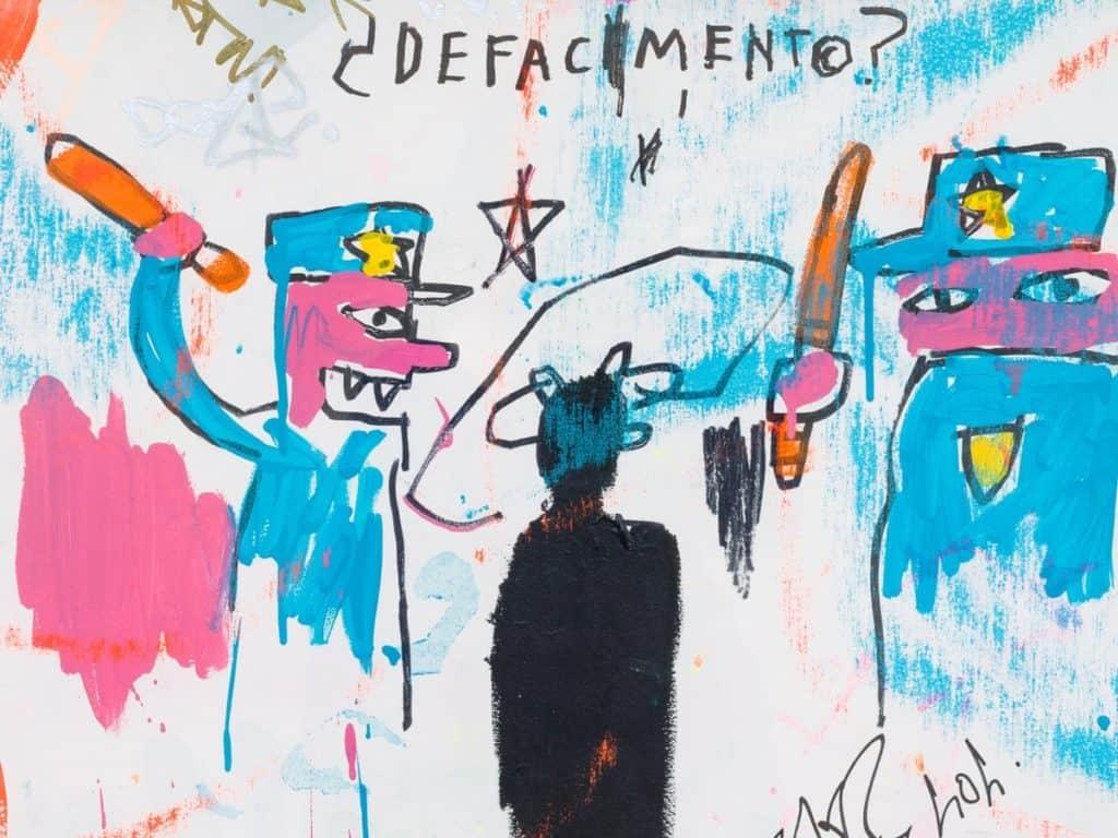 Jean-Michel Basquiat, Defacement (The Death of Michael Stewart), 1983.