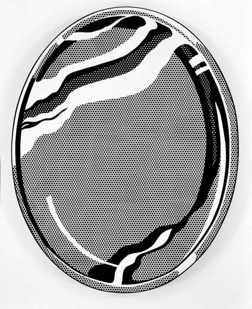 Roy Lichtenstein, Mirror #1, 1969
