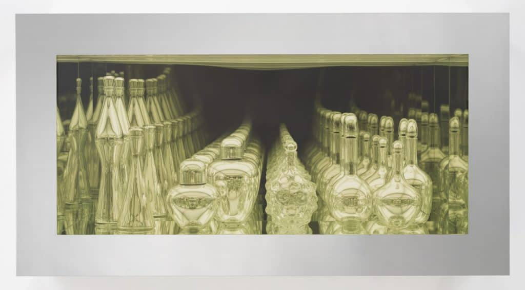 Modernity, Mirrored and Reflected Infinitely by Josiah McElheny - Mirrored blown glass