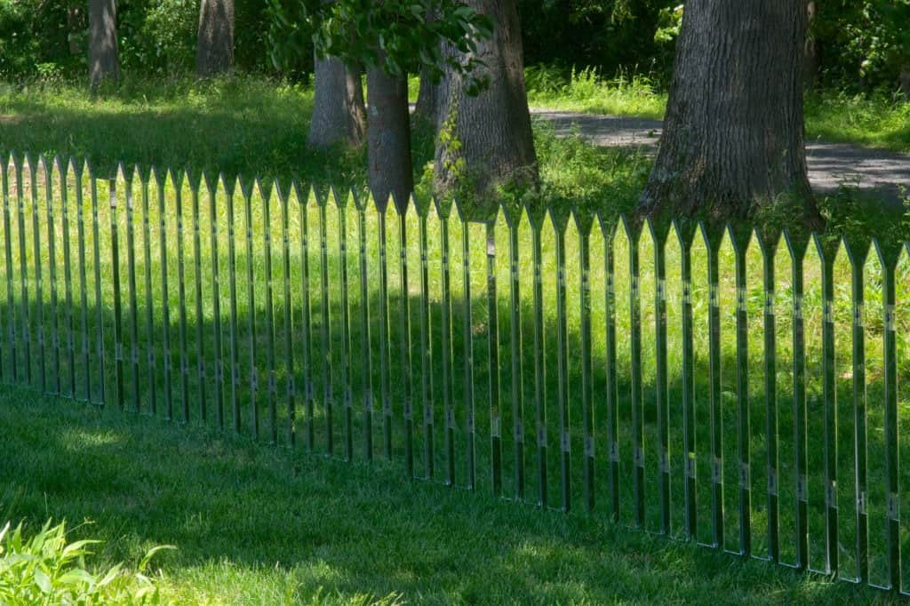 Mirror Fence by Alyson Shotz