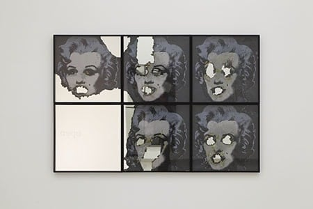 Douglas Gordon, Self-Portrait of You + Me (Six Marilyns), 2008
