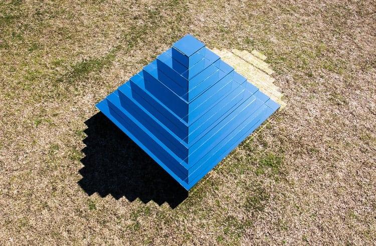 Mirrored Ziggurat, Sydney, Australia, Underbelly Arts Festival